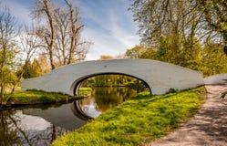 Lady Capel's Bridge Grand Union Canal Bridge No 163 royalty free stock photos