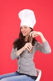 Lady chef Royalty Free Stock Image
