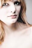 Lady closeup. Closeup image of beutiful lady Royalty Free Stock Photo