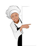 Lady cook Stock Photos