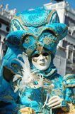 Lady in costume at Carnival of Venice 2011 Royalty Free Stock Photo