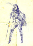 Lady death Stock Image