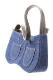 Lady Denim Handbag Royalty Free Stock Image