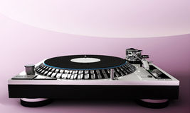 Lady dj set Royalty Free Stock Images