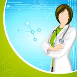 Lady Doctor Stock Photo