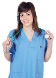 Lady Doctor royalty free stock photography
