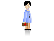 Lady Doctor Royalty Free Stock Photos