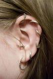 Lady ear Royalty Free Stock Photo