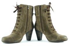 Lady elegance boots Stock Photos