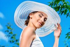 Lady elegance Royalty Free Stock Image