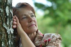 Lady enjoying summer Royalty Free Stock Images