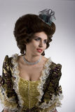 lady för 18th århundrade Royaltyfria Foton