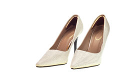 Lady fashion shoe Royalty Free Stock Photos