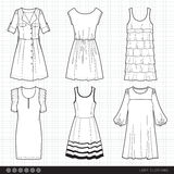 Lady fashionable clothes Royalty Free Stock Photo