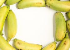 Lady Finger Banana Ouro Frame Stock Photos