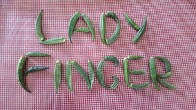 Lady Finger Stock Photos