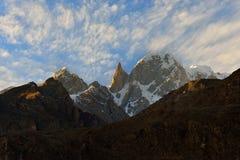 Lady Finger Peak in Karakoram Region. Royalty Free Stock Photography
