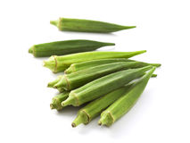 Lady fingers (Okras - Gumbos) Royalty Free Stock Image
