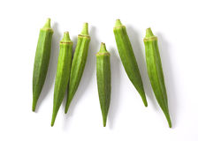 Lady fingers (Okras - Gumbos) Stock Image