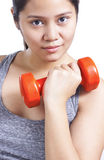 Lady In Fitness Stock Image