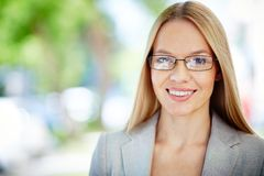Lady in formal Stock Images