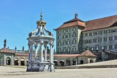Einsiedeln Abbey, Switzerland Royalty Free Stock Images