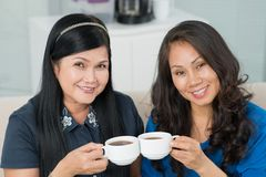 Lady friends Stock Image
