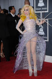 Lady GaGa. At the 52nd Annual Grammy Awards - Arrivals, Staples Center, Los Angeles, CA. 01-31-10 Stock Photography