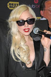 Lady GaGa. At a signing for the CD The Fame Monster, Best Buy, Los Angeles, CA. 11-23-09 Stock Image