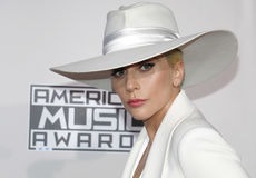 Lady Gaga. At the 2016 American Music Awards held at the Microsoft Theater in Los Angeles, USA on November 20, 2016 Royalty Free Stock Image