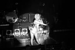 Lady Gaga in Berlin. Lady gaga on stage in Berlin 2009 Stock Photo