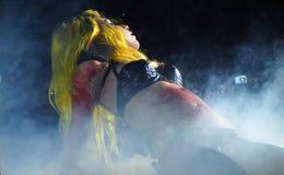 Lady Gaga Live Feb_28_2011 Royalty Free Stock Images