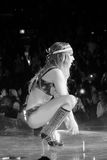 Lady Gaga Live Feb_28_2011 Royalty Free Stock Photos