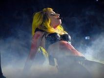 Lady Gaga Live Feb_28_2011 Royalty Free Stock Photo