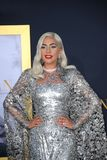 Lady Gaga. At the Los Angeles premiere of `A Star Is Born` held at the Shrine Auditorium in Los Angeles, USA on September 24, 2018 royalty free stock photos