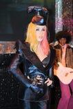 Lady Gaga at Madame Tussaud's stock images