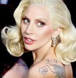 Lady Gaga royalty free stock photo