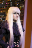 Lady gaga wax figure Royalty Free Stock Images