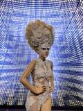 Lady Gaga Wax Figure royalty free stock photography