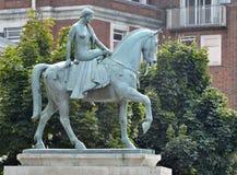 Lady Godiva statua Zdjęcie Stock