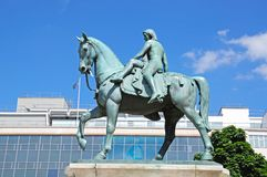 Lady Godiva statue, Coventry. Royalty Free Stock Images