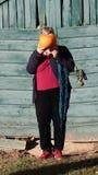 Lady gourd Stock Photo