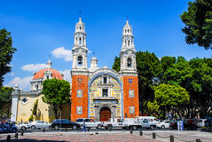 Lady Of Guadalupe Church in Puebla Royalty Free Stock Photos