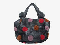Lady Handbag - Cowhide Stock Image