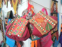 Lady handbags Royalty Free Stock Image