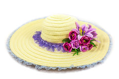 Lady Hat Royalty Free Stock Photography