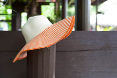 Lady hat Stock Photo
