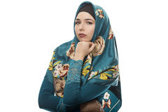 Lady in Hijab Looking Confident Stock Photo