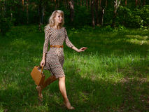Free Lady In Forest Stock Images - 31572704