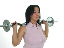 Lady Iron 33 Stock Image